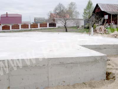 Строительство фундамент дом из бруса Одинцовский район