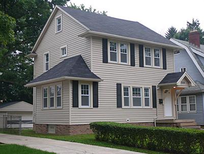Возможности сайдинга при отделке домов