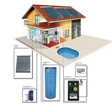 принцып работы солнечной установки