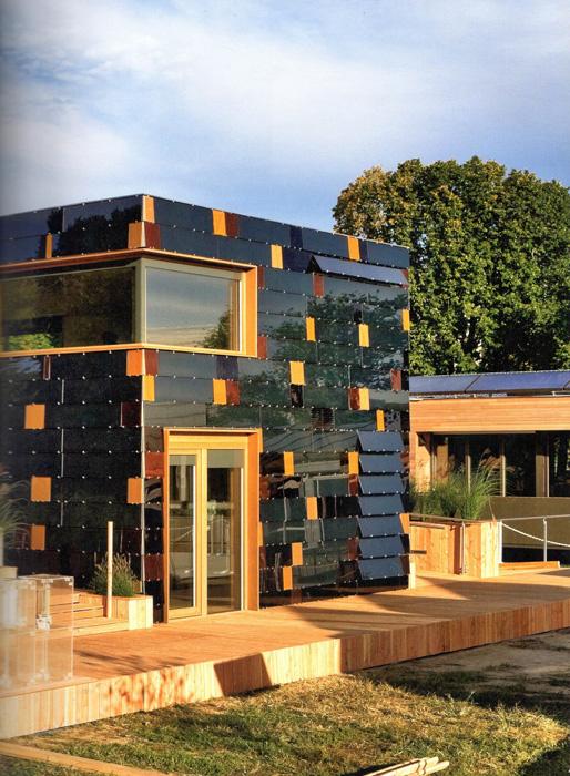 солнечный дом и окружающая среда
