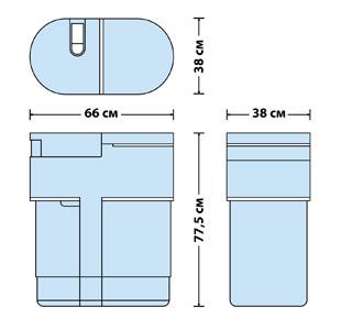 размеры новейшего фильтра для воды