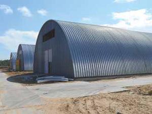 Gradnja hangarskih skladišč